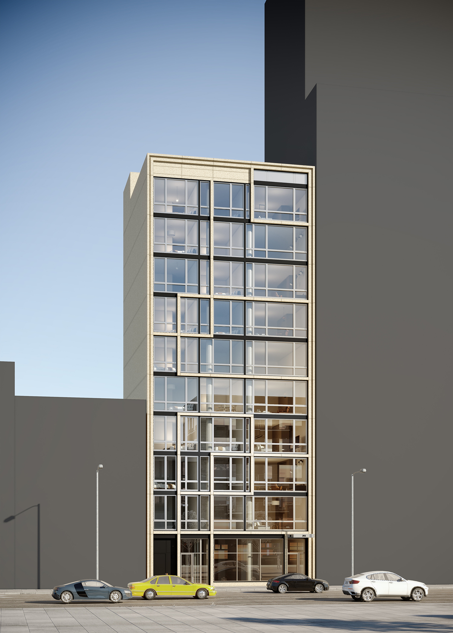 Rendering of 393 8th Avenue