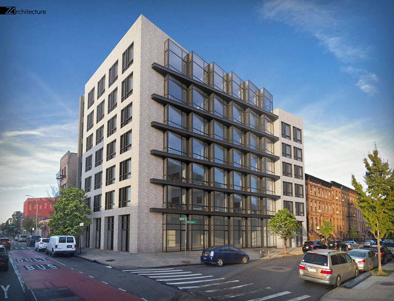 Rendering of 1259 Bedford Avenue - Z Architecture