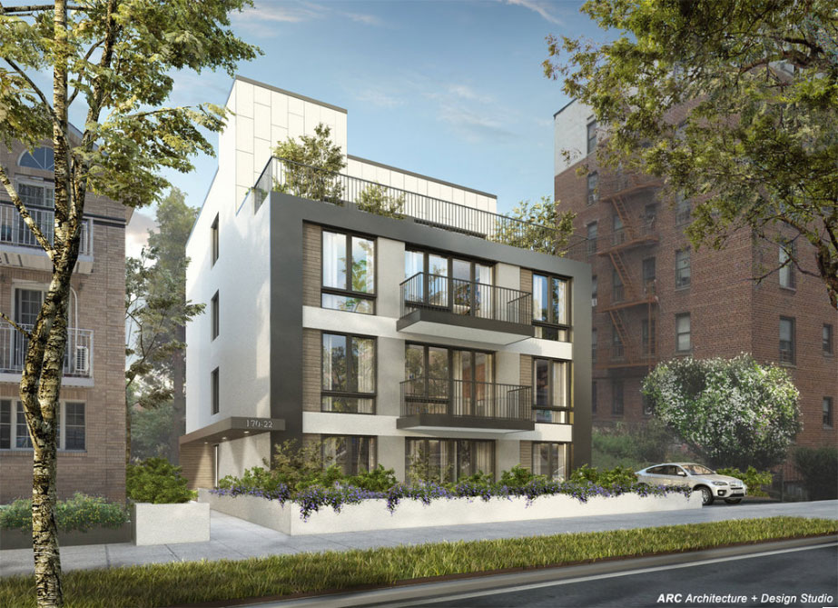 Rendering of 170-22 Cedarcroft Road - ARC Architecture + Design Studio