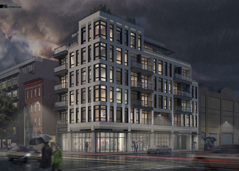 Renderings Revealed For New Residential Building At 21 59