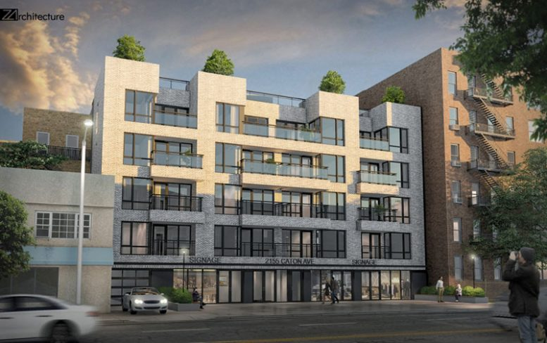 Rendering of 2155 Caton Avenue - Z Architecture