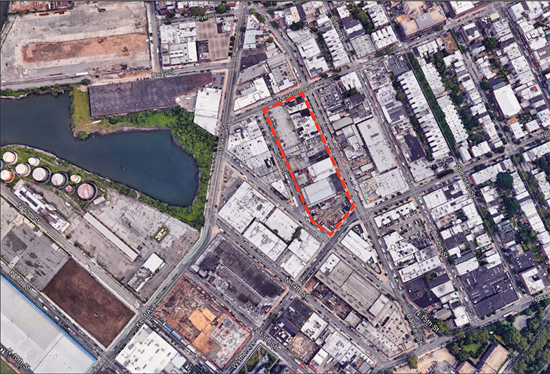Site Map of the Acme Fish Factory Expansion - Gensler Architects