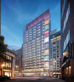 Rendering of Union Square Tech Training Center at 124 East 14th Street