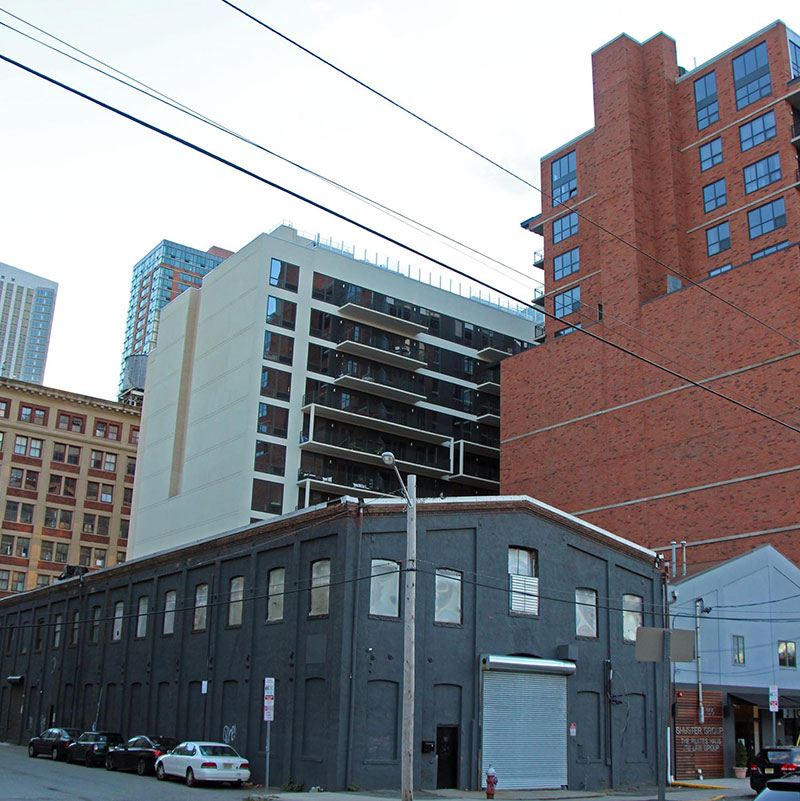 Previous street view of warehouse structure at 161 Second Street - Skyscraper City Forums