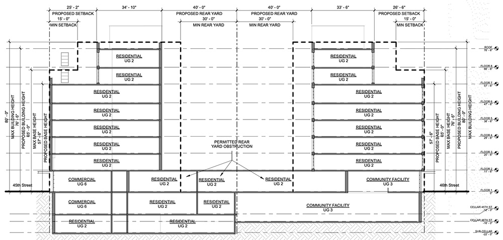 22-60 46th Street Astoria (Key Elevation) - Mega Realty Holding, Pancyprian Association