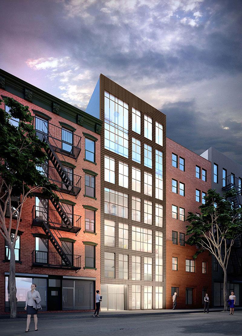 Rendering of 422 West 49th Street (MORTAR ARCH+DEV)