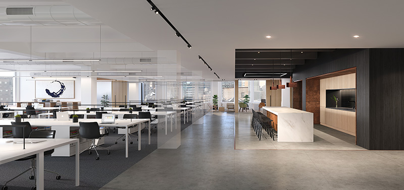 554 On the Eighth - Office Redesign (Fogarty Finger Architecture)
