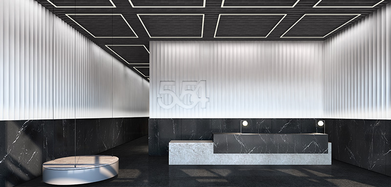 554 On the Eighth - Lobby Redesign (Fogarty Finger Architecture)