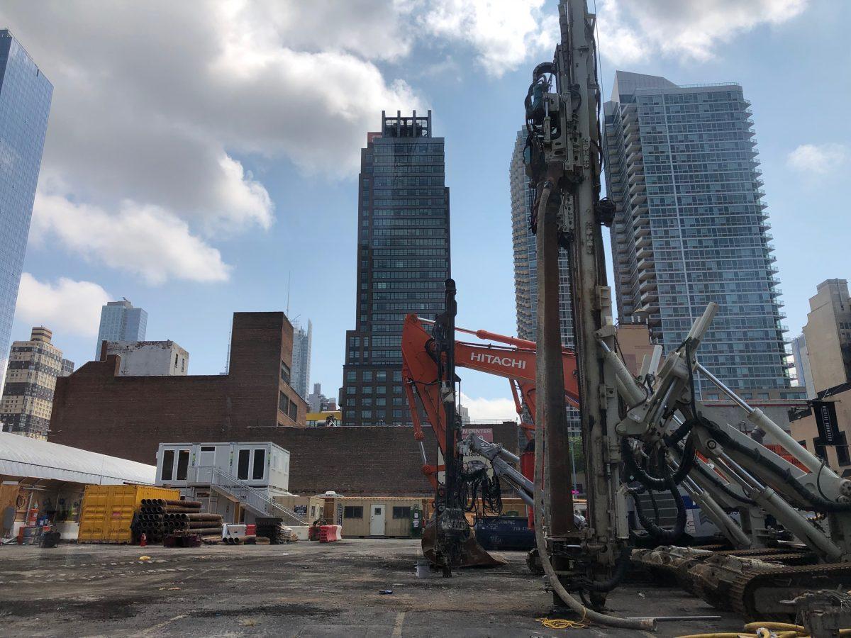 Excavation Set To Begin For Pelli Clarke Pelli Designed Skyscraper