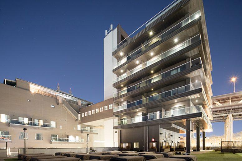 Rendering of Ravel Hotel - Steven Kratchman Architect, P.C.