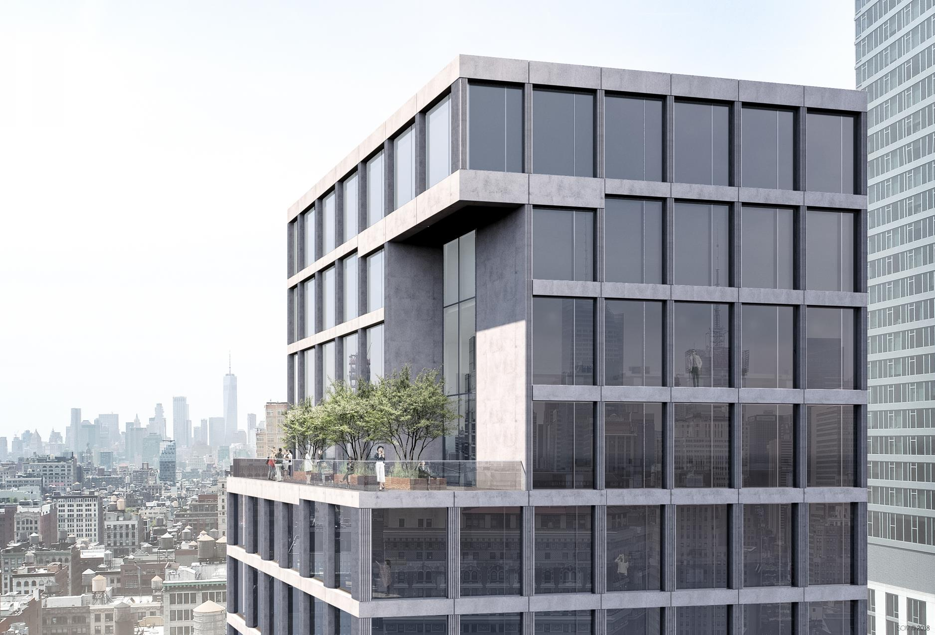 1241 Broadway, rendering from GDSNY