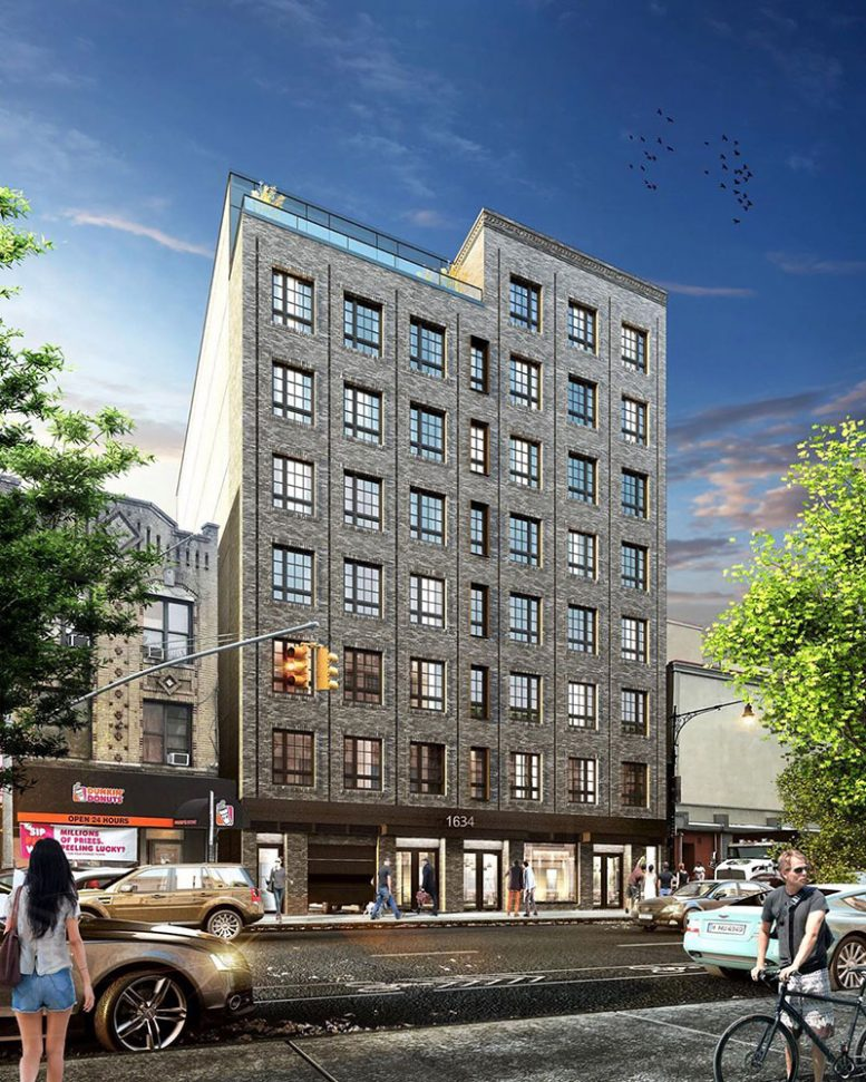 Rendering of 1694 Church Avenue - J Frankl C Mallea Architects & Engineers