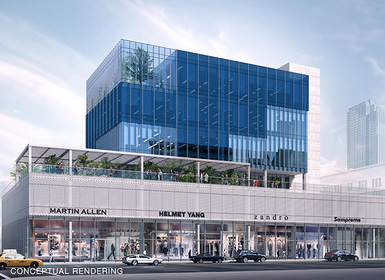 200 Kent Avenue's Glass Façade Work Wraps Up in Williamsburg