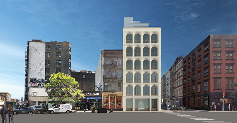 Rendering of 31 Lispenard Street - GF55 Partners