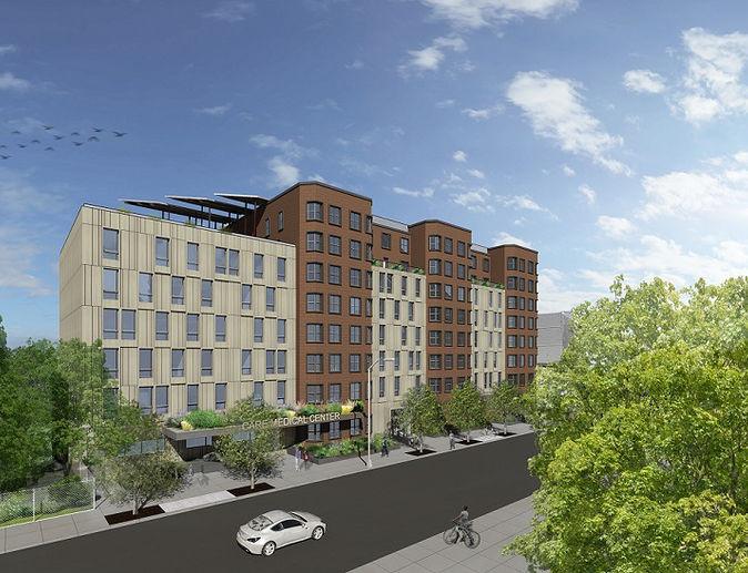 Rendering of 483 Herkimer Street - Urban Architectural Initiative (UAI)