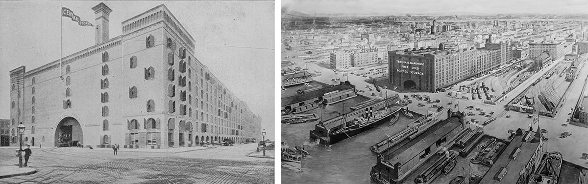 Historic photos of TErminal Warehouse - L&L Holding Company / Normandy Real Estate Partners