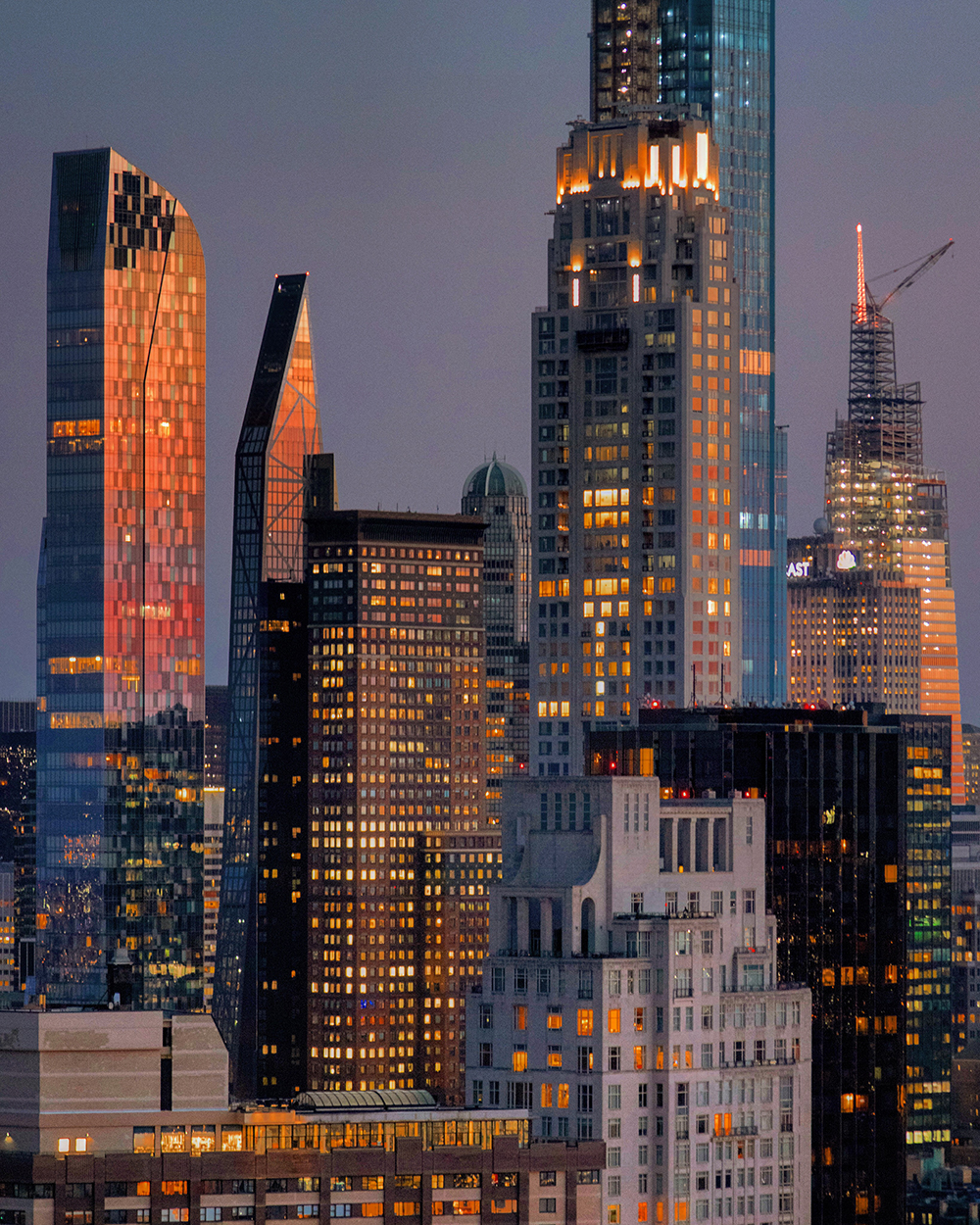 Billionaires' Row near dusk. Photo by Michael Young