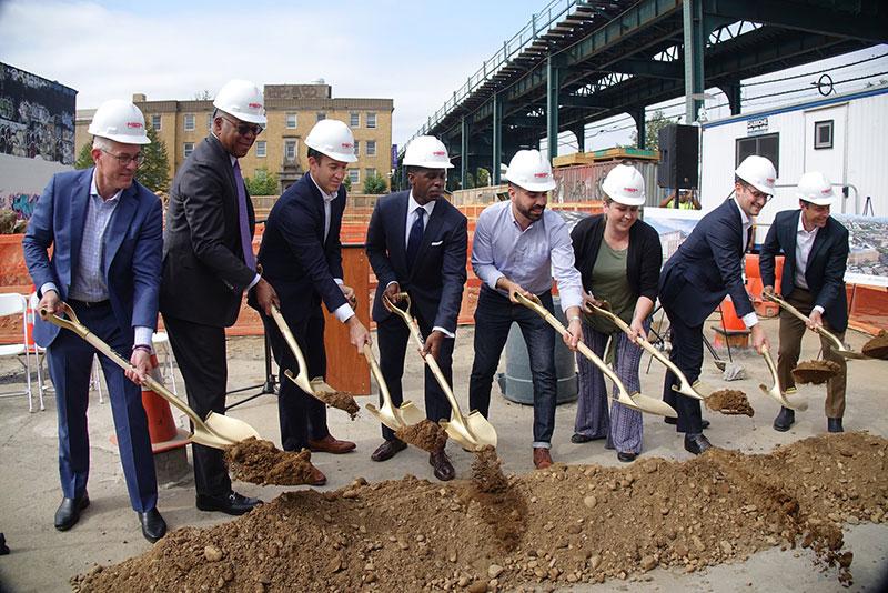 Groundbreaking ceremony for 50 Pennsylvnaia Avenue - NYC HPD
