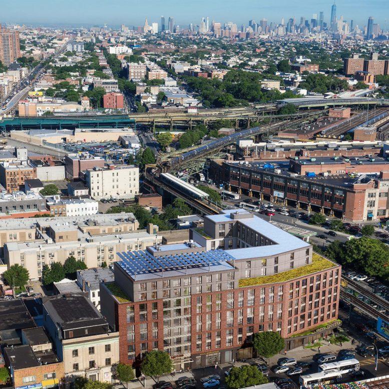 Rendering of 50 Pennsylvania Avenue - Dattner Architects