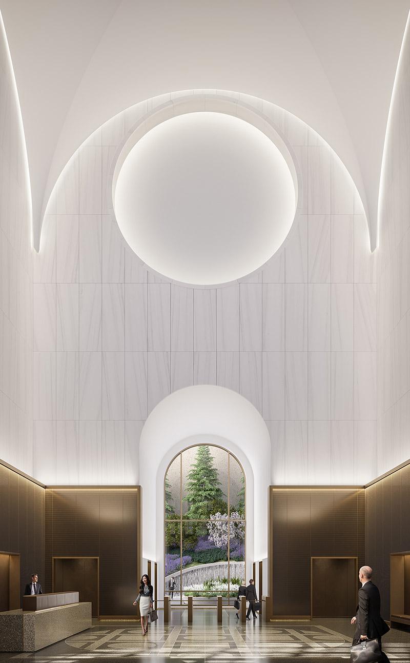 550 Madison Avenue Lobby - Gensler