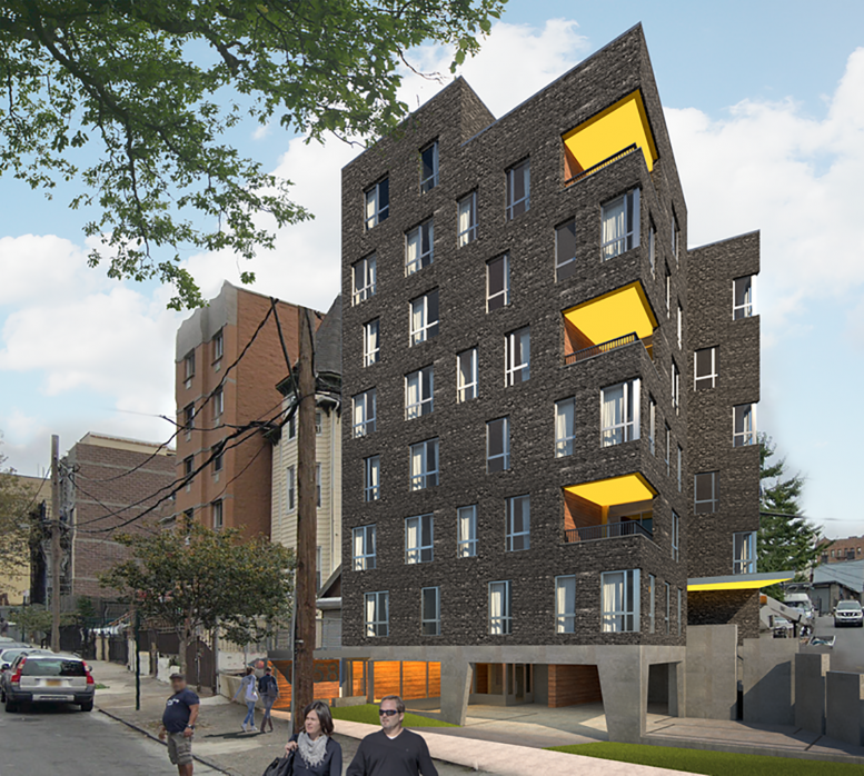 Rendering of 1058 University Avenue, courtesy of Zambrano Architectural Design