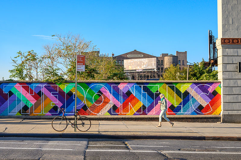 The Point LIC Mural by Mauricio Arenas aka Degroupo (Courtesy of CTC Studio for Related Companies)