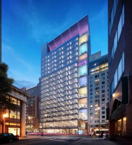 Rendering of Zero Irving (Courtesy of Davis Brody Bond)