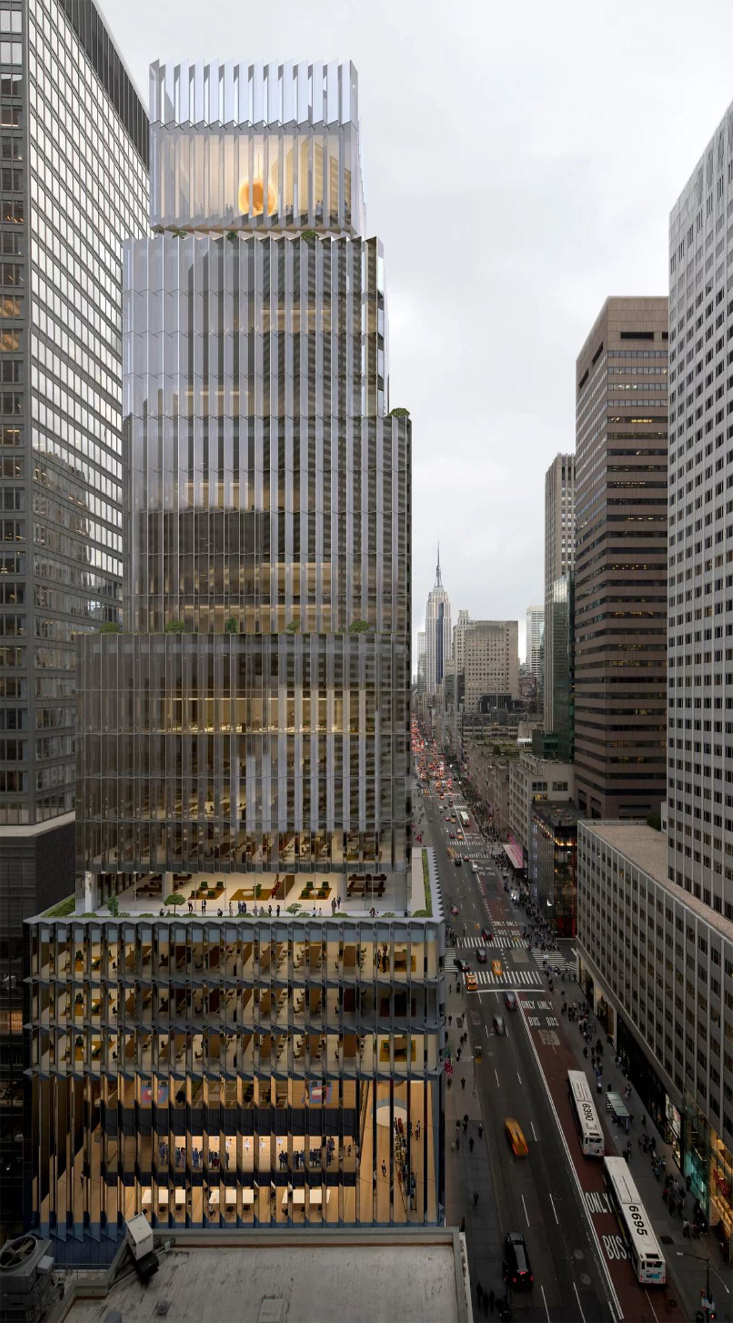 David Chipperfield Architects to Build Rolex's New Headquarters at 665 Fifth Avenue in Midtown - New York YIMBY