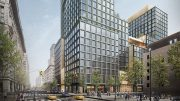Rendering of 4 Hudson Square - Skidmore, Owings & Merrill