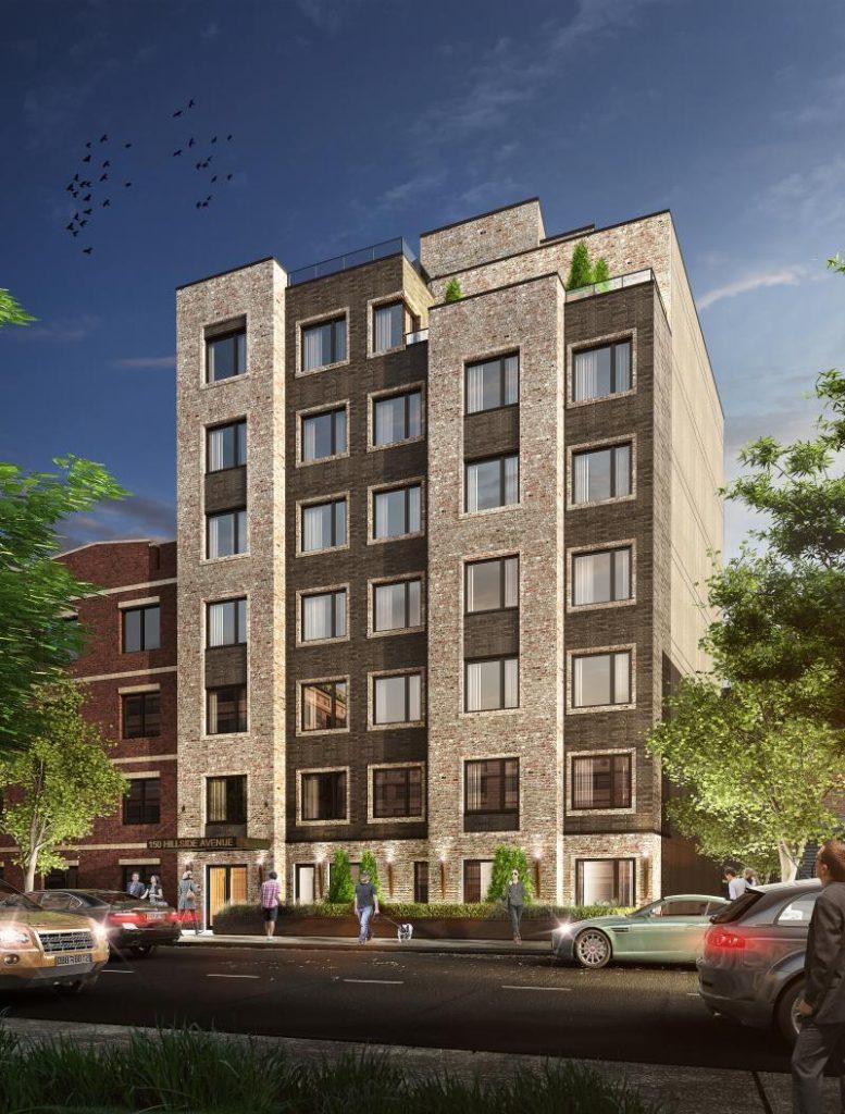 Rendering of 140 Hillside Avenue - J Frankl Associates
