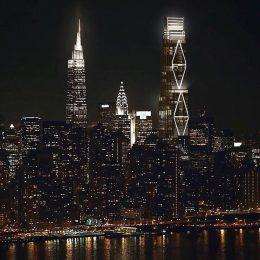 Rendering of 270 Park Avenue reveals diagrid lighting system