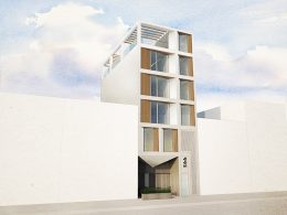 Rendering of 566 Grand Street - Opera Studio Architecture