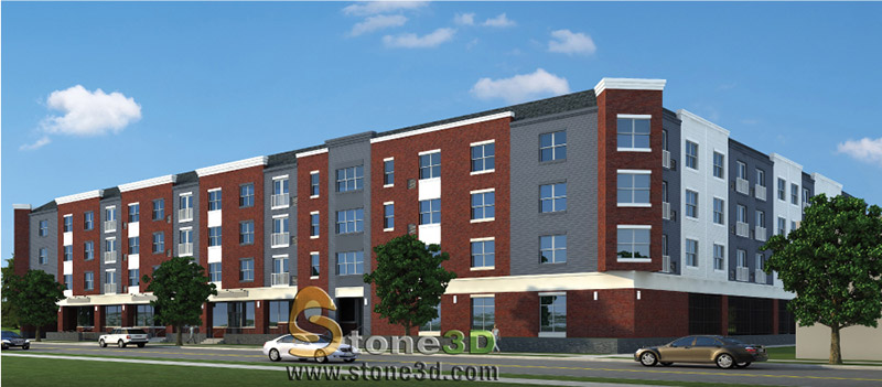 Rendering of 829 South Avenue (Photo: Paramount Assets)
