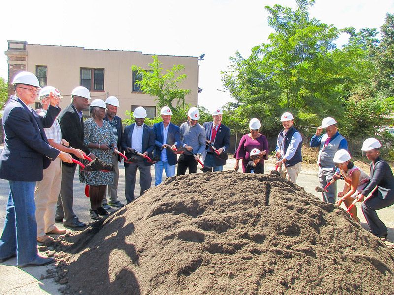 Groundbreaking ceremony at Netherwood Flats (Photo: Paramount Assets)