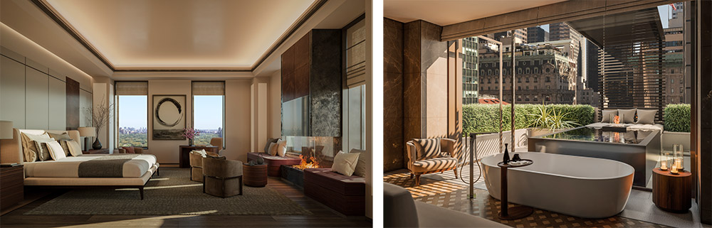 Residential Interiors at Aman New York