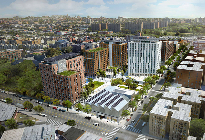 Rendering of Peninsula in The Bronx