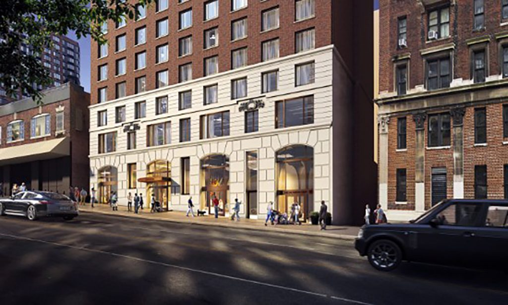 Rendering of 266 West 96th Street, courtesy of Fetner Properties