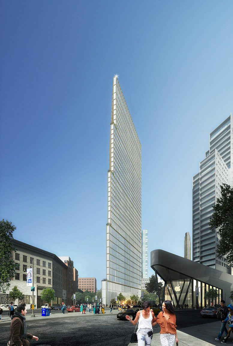 Rendering of 100 Flatbush (Courtesy of Alloy Development)