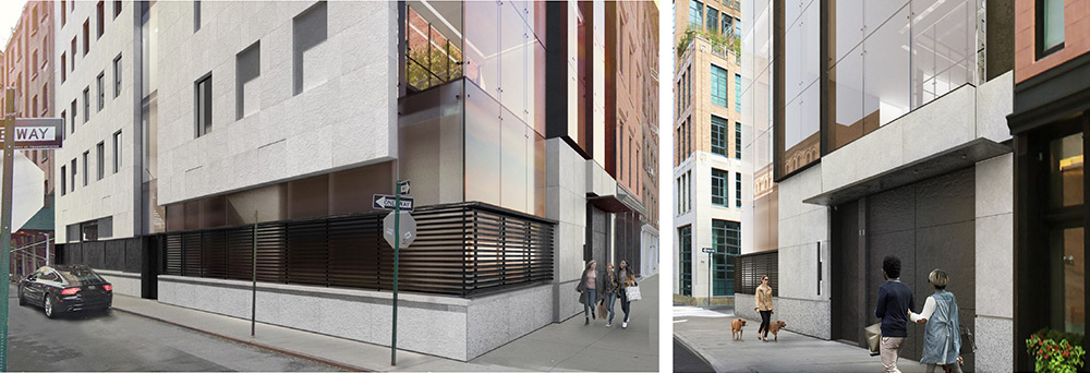 Ground floor renderings of 11 Hubert Street - E Cobb Architects