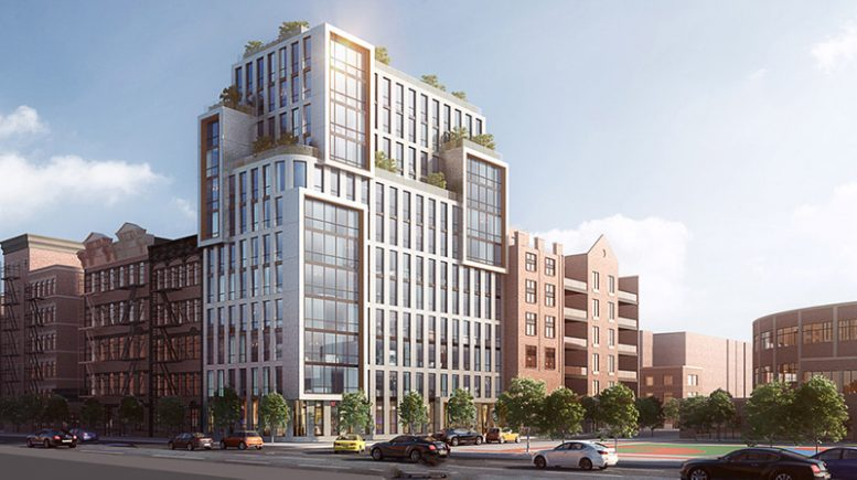 Rendering of 176-178 Delancey Street (Courtesy of Atchain and Avison Young)