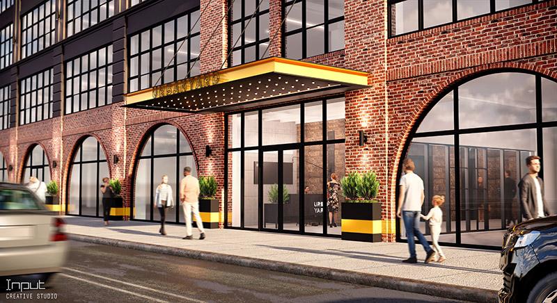 Rendering of 40-09 21st Street at Urban Yard - Input Creative Studio