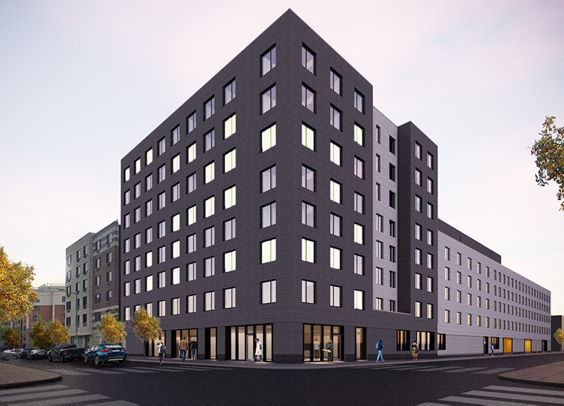 Rendering of 449 Chester Street - Bernheimer Architecture