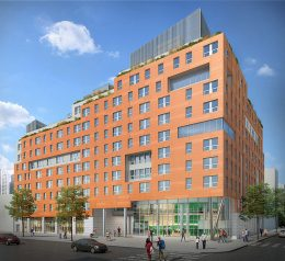 Rendering of Park Haven Apartments - EDI International