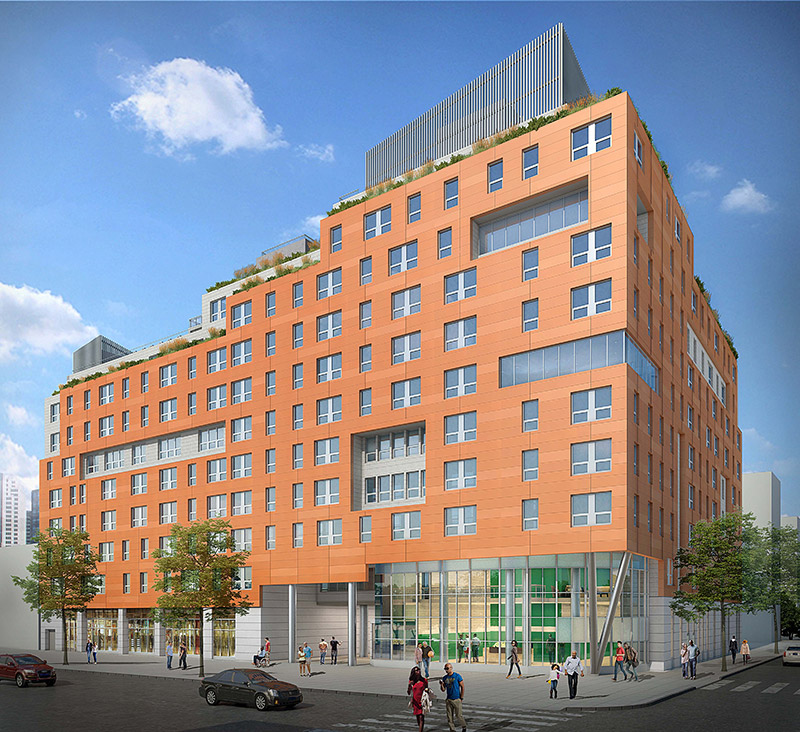 Rendering of Park Haven Apartments - EDI International
