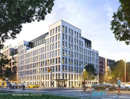 Rendering of 100 Lenox Road - S Wieder Architect / Beitel Group