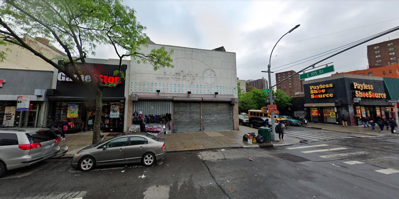 1905 Third Avenue in East Harlem, Manhattan