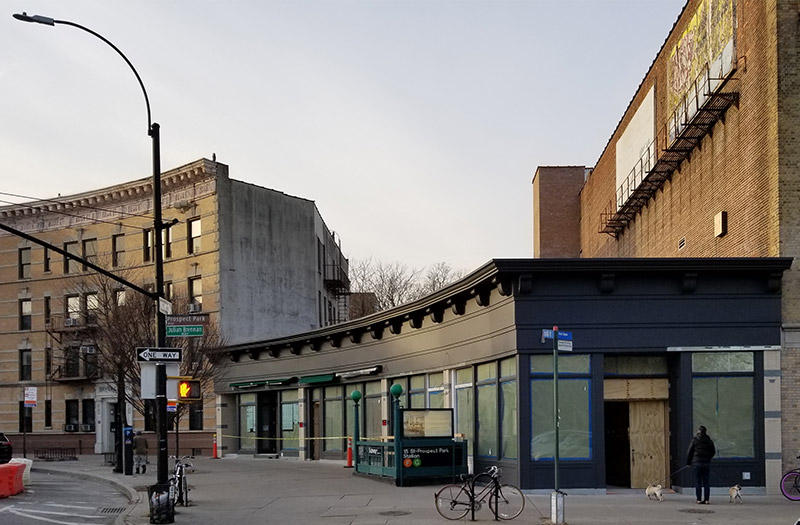 Completed structure at 192 Prospect Park West - Building Studio Design