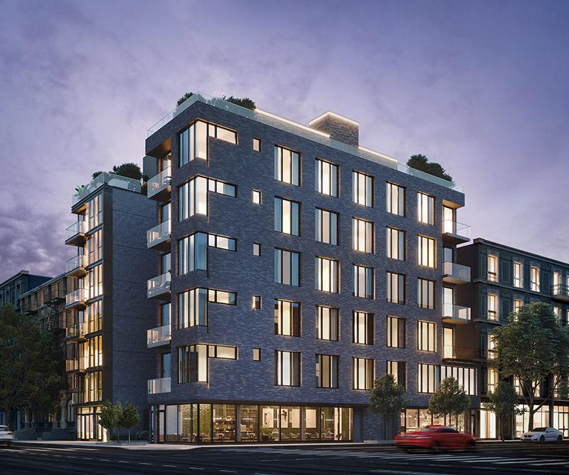 Rendering of 2750-2754 Frederick Douglass Boulevard - NDKazalas Architecture