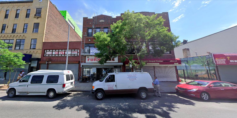 393 Rockaway Avenue in Brownsville, Brooklyn