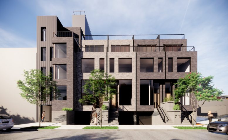 Rendering for 55 Summit Street, courtesy of Builtd